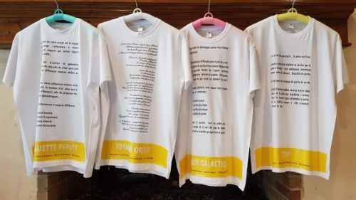 Commande HEPIA 4 T-Shirts