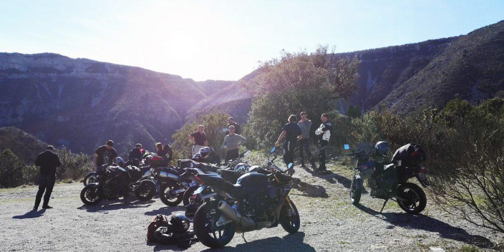 balade moto Aveyron
