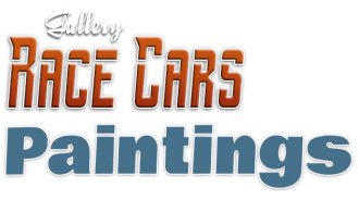Création logo Gallery Race Cars Paintings